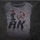 An kei Love Gray T-shirt