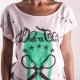 An kei Mad Logo OffWhite T-shirt