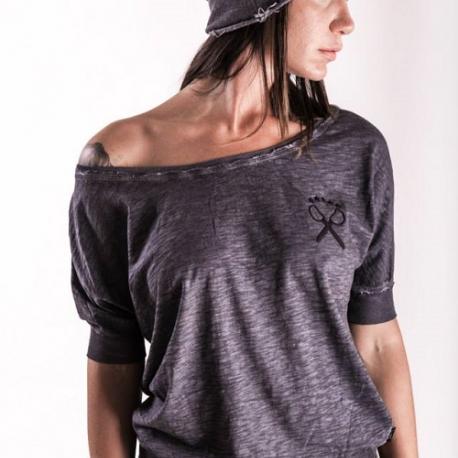 """An kei - """"Black Bat"""" marškinėliai trumpomis rankovėmis"""