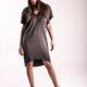 An kei Fless Dress Cranny Black