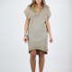 An kei Fless Dress Cranny OldGold