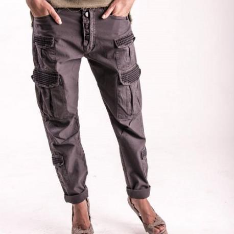 An kei Black Ride Pants