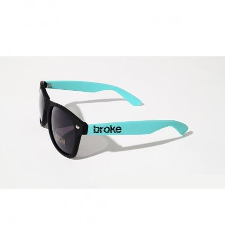 Broke sunglasses Verde Acqua