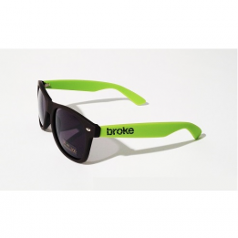 Broke sunglasses Verde Acido