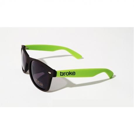Broke sunglasses Verde Acido