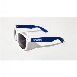 Broke sunglasses Bianco Blu