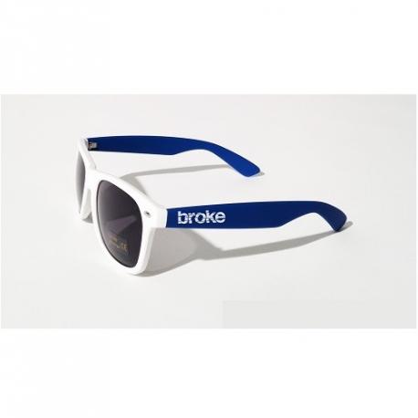 Broke sunglasses Bianco Blu