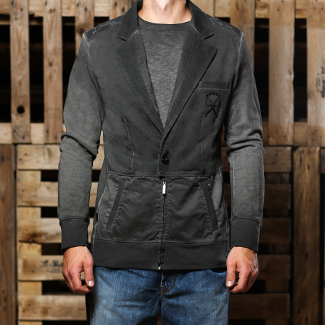 An kei Black Blend Jacket coat