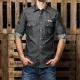 Broke Camicia Rodeo Grey