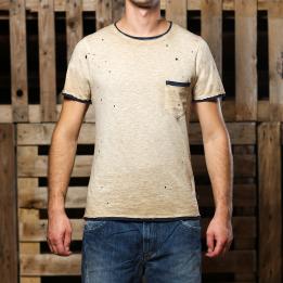 An kei OldGold Spike T-shirt