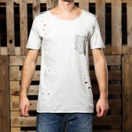 An kei New Basic OffWhite T-shirt