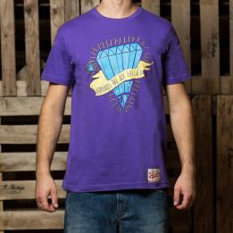 """ABA - Violetinės spalvos """"Diamond Are Not Forever"""" marškinėliai"""