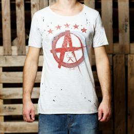 """An kei - """"Ace OffWhite"""" marškinėliai"""