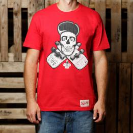 """ABA - Raudonos spalvos """"Vagrant Life"""" marškinėliai"""