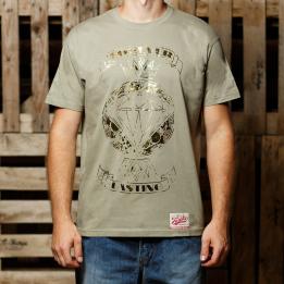 """ABA - Pistacijų spalvos """"Forever Lasting"""" marškinėliai"""