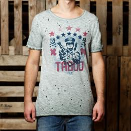 An kei taboo grey marškinėliai