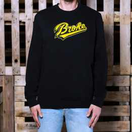 Broke Felpa Giro Baseball Black