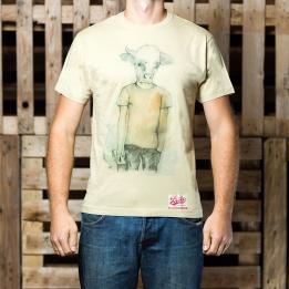 """ABA - """"Human Like A Cow"""" marškinėliai"""