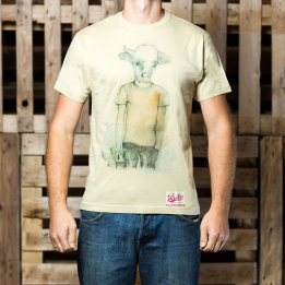 ABA Human Like A Cow T-shirt