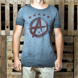 """An kei - """"Ace OffGrey"""" marškinėliai"""