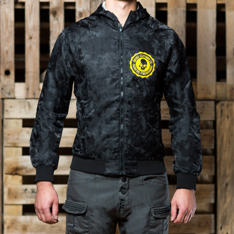 Broke Giacca K-Way Camo jacket