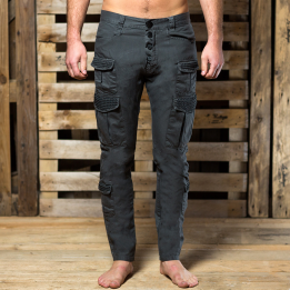 An Kei Pants Ramble Black pants