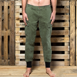 "Broke Clothing - ""Green Kombat Camo"" kelnės"