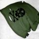 An kei Skull Melange Hat