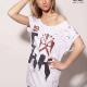 An kei Love OffWhite T-shirt