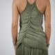 An kei Army Dress Curly